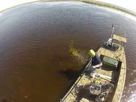 Steve Nick and Joe Wronkowski Sight Fishing RedFish in Delacroix #2