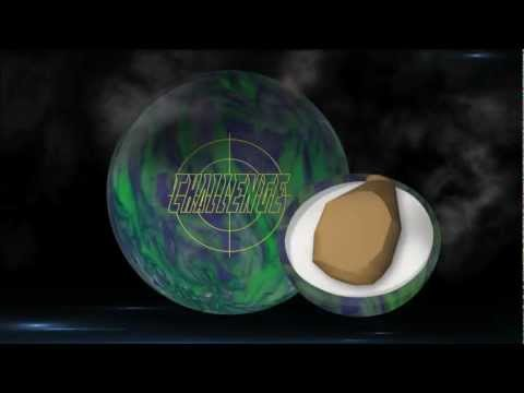 Ebonite Challenge Bowling Ball Thrown By Brandon Allred Of K&amp K Bowling Services