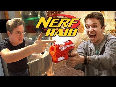 NERF OFFICE RAID