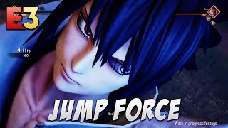JUMP FORCE [E3] - Trailer, Gameplay + Interview - JUMP Force E3 2018 Overview! NEW ANIME GAME!