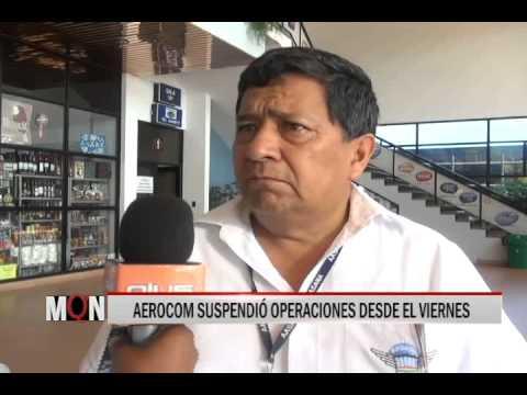 03/03/15 12:56 AEROCOM SUSPENDIÓ OPERACIONES DESDE EL VIERNES