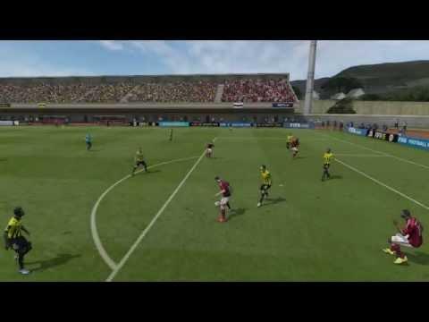 Insane fifa 15 Jack Wilshere goal