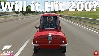 Forza Horizon 4: Will the Peel P50 Hit 200 MPH?