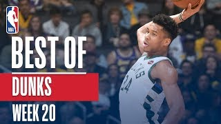 NBA's Best Dunks | Week 20