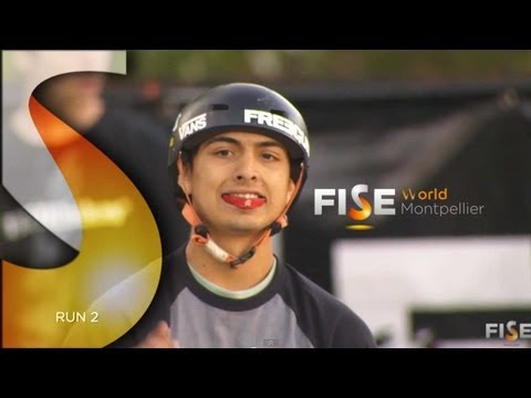 Daniel Sandoval - 2nd Final BMX Park - FISE World Montpellier 2013