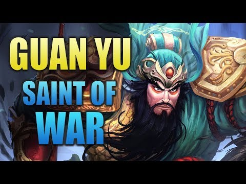 SMITE Conquest - Guan Yu Support | Warrior Support?