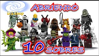 LEGO Minifigures Series 14 Monsters Unboxing en Español Abriendo 10 sobres