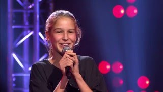 Romane Don 39 T Stop Me Now 39 39 Blind Audition The Voice Kids Vtm