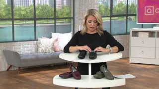 Vitaform Leather Loafers with Bow Detail on QVC