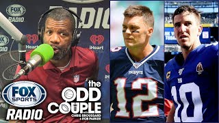 Rob Parker - I'd Take Eli Manning OVER Tom Brady in Big Game Clutch Moments