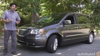 2015 Chrysler Town and Country Limited Platinum - Minivan Test Drive Video Review