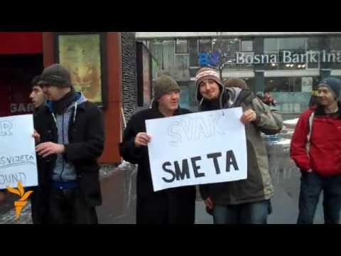 Sarajevo: Protest protiv smaka svijeta