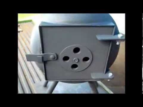 Propane Tank Camp Stove Part 6 Done Youtube