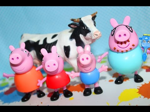 Peppa Pig Washing Peppa Pig Toy Episode 1