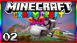 """Minecraft Crazy Craft 3.0 """"FREAKIN' HELICOPTERS"""" #2 (SMP Server)"""