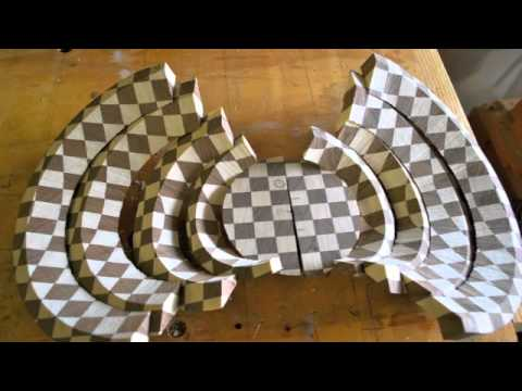 Segmented Wood Turnings by Darryl Easter - YouTube