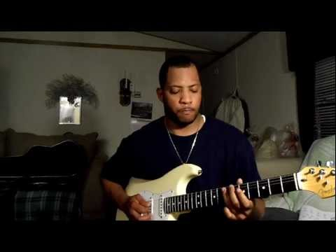 Kevin Cheek on guitar