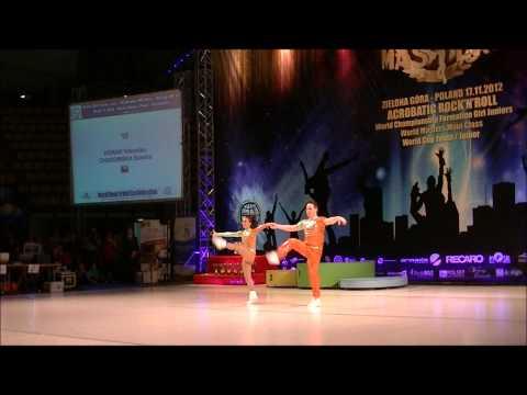 Sandra Chudomska & Vitezslav Horak - World Masters Zielona Gora 2012