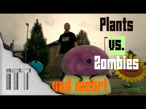Plants vs. Zombies Real Life & mehr Trailer! - HETHFILMS