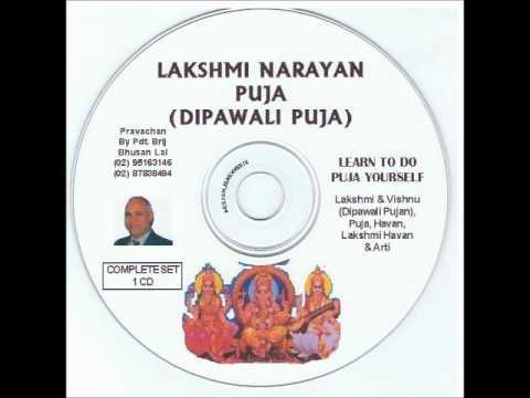 Lakshmi Narayan Dipawali Puja By Pandit Brij Bhushan Lal of Fiji
