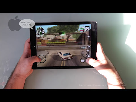 iPad Air 2 Prueba de rendimiento usando aplicaciones y juegos en Español