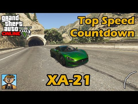 Fastest Supercars (XA-21) - GTA 5 Best Fully Upgraded Cars Top Speed Countdown