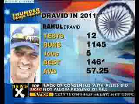 Sachin moves up, Dravid falls in ICC Test rankings