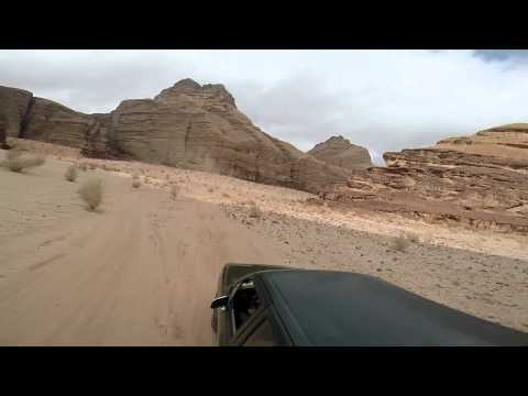 Wadi Rum Protected Area: Burrah Canyon video