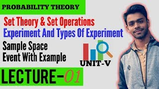 Probability Theory - Concept of Random Experiment | Sample Space and Event in Hindi | Lecture - 01