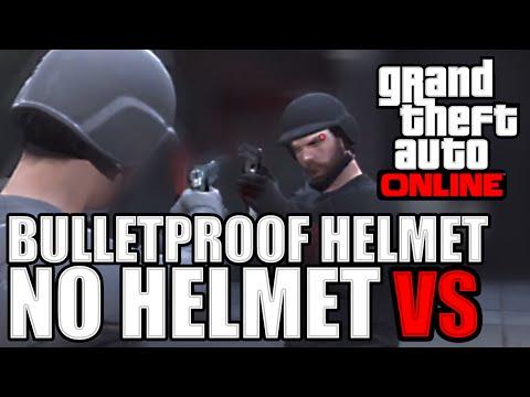 Bulletproof Helmet vs No Helmet (GTAO Last Team Standing 1.17 Update)