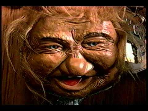 creepy old lady cackling laffun head youtube