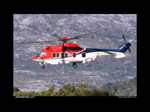 Video:Helicopter carrying oil workers crashes in western Norway