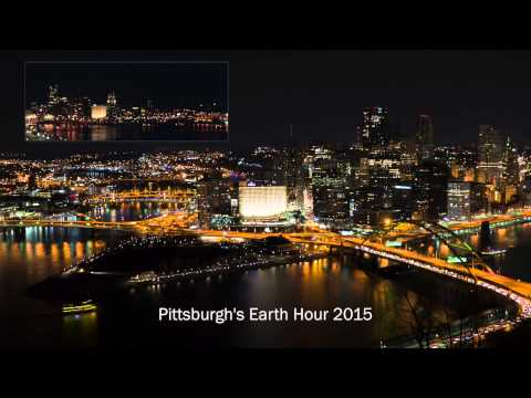Earth Hour Pittsburgh 2015