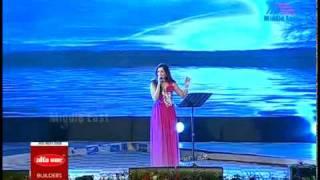 Anuraga-Shreya Ghoshal on Mathrubhumi Film Awards 2010.flv