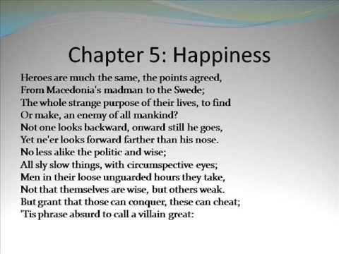 An Essay On Man by Alexander Pope Chapter 5