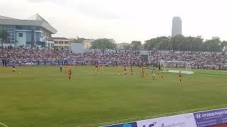 HIỆP 2. Derby xứ Nghệ, Hồng Lĩnh Hà Tĩnh - SLNA (KHÁNH THÀNH SÂN VẬN ĐỘNG HÀ TĨNH). tỉ số 2-2.