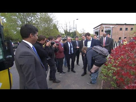 Young Man Drops Trousers In Front Of Nick Clegg