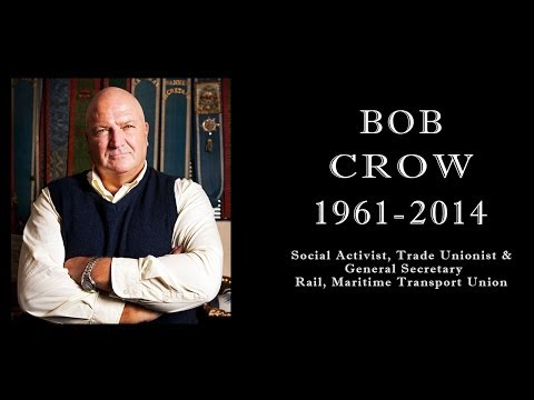 Bob Crow RMT Speaks - MUA National Conference 2012