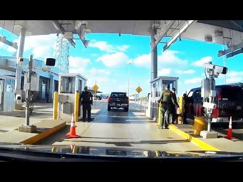 Как проехать погранконтроль США   Immigration Checkpoint