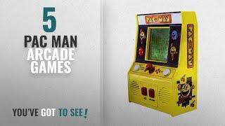 Top 10 Pac Man Arcade Games [2018]: Arcade Classics - Pac-Man Retro Mini Arcade Game