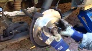 Rear brake job - 2003 Chrysler Town & Country