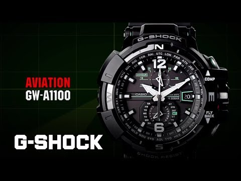 CASIO G-SHOCK GW-A1100 product video