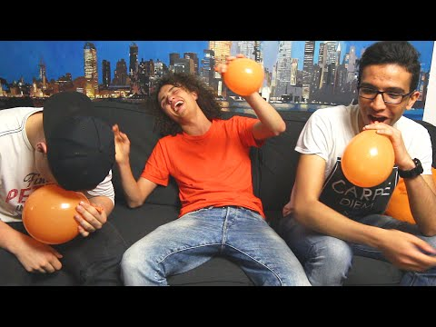 TRY NOT TO LAUGH CHALLENGE WITH HELIUM!