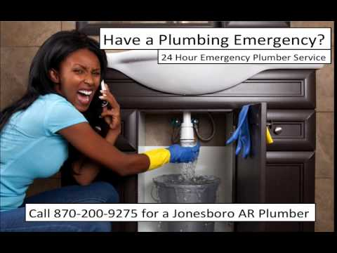 24 Hour Emergency Plumber Jonesboro AR - (870) 200-9275