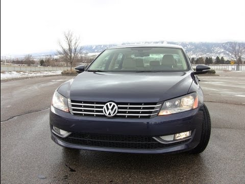 2012 Volkswagen Passat TDI Drive and Review