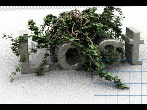 Photoshop CS6 - 3D - Ivy Generator