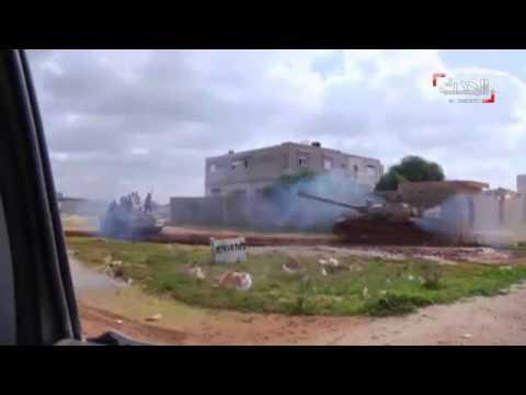 الجيش الليبي يتقدم نحو أحد المعسكرات الهامة قرب العاصمة