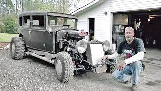 Building A Custom 1929 Model A Rat Rod with Military Surplus from GovLiquidation.com