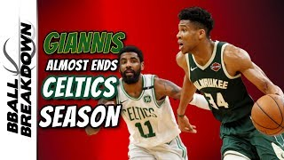Giannis Almost Ends The Celtics Season In Game 4