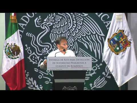 Equipan en Tamaulipas a cuerpos de Protección Civil de 5 Estados